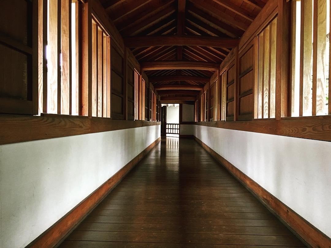 Himeji, Japon. Coursives du château de Himeji.
