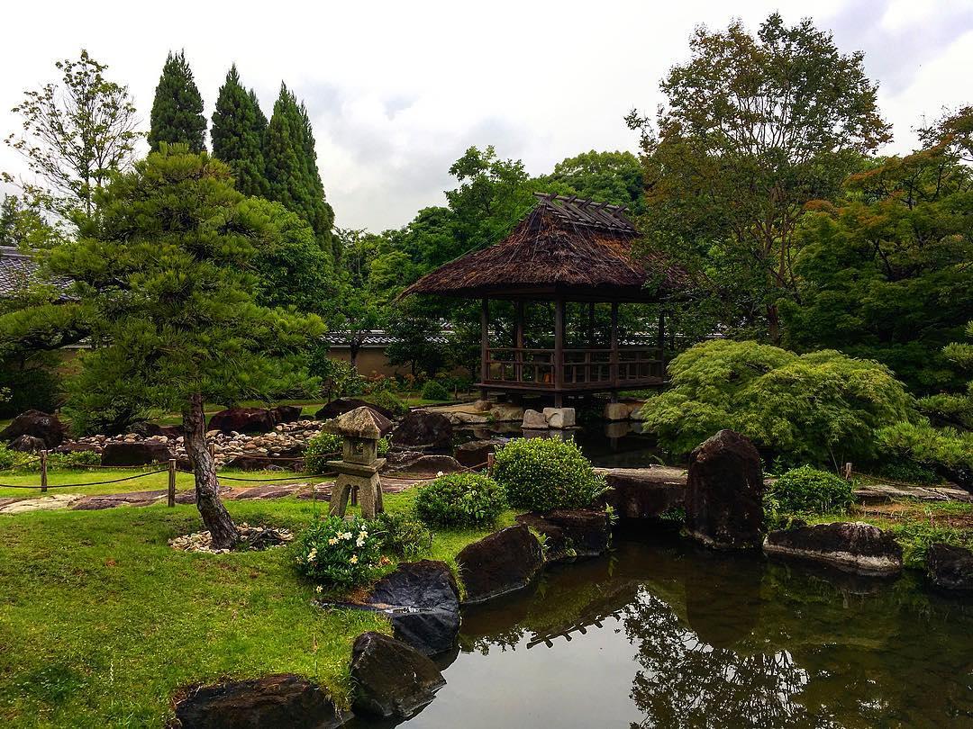 Himeji, Japon. Koko-en, superbes jardins jouxtant le château de Himeji.
