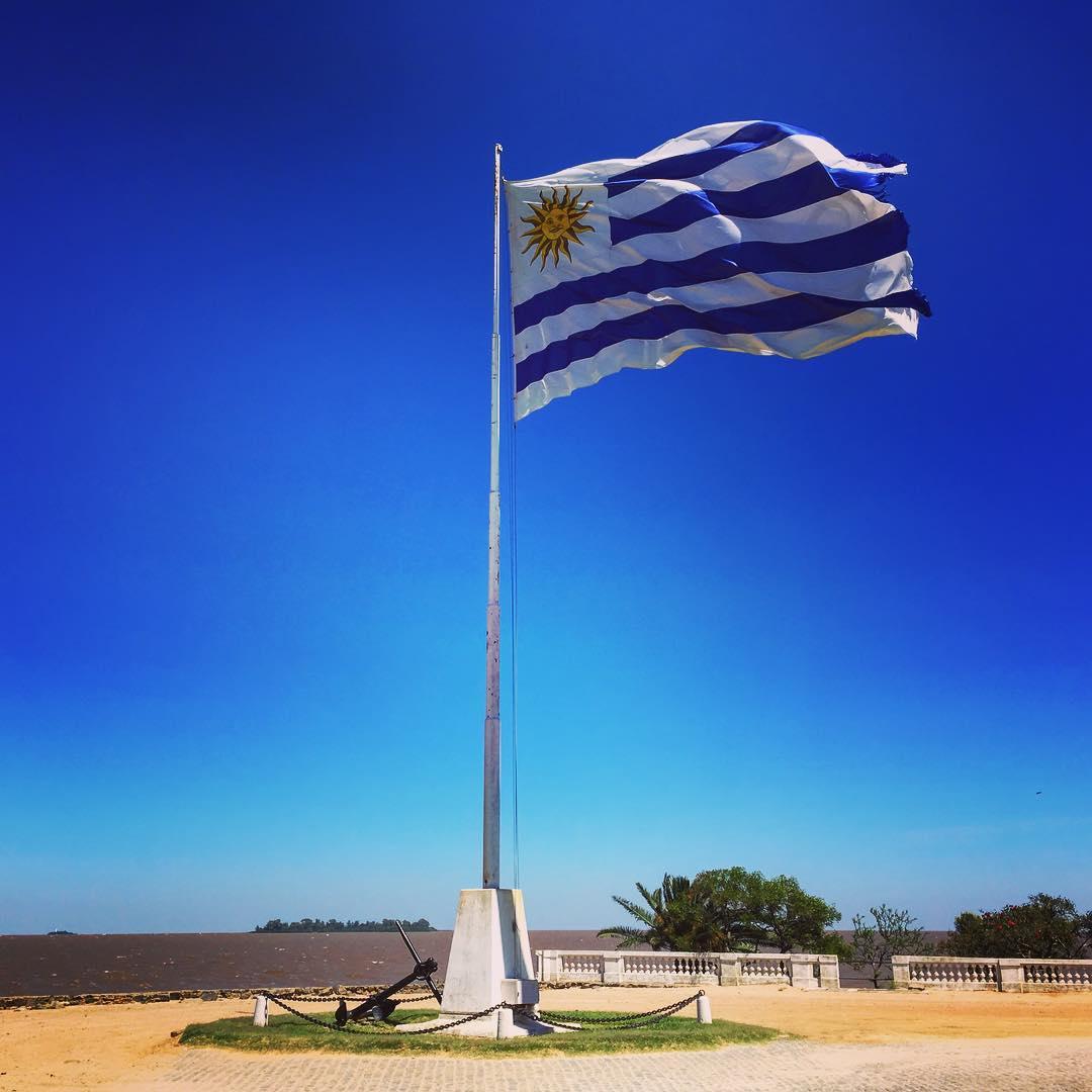 Colonia del Sacramento, Uruguay. Fondée par des Portugais, elle a souvent changé de mains dans son histoire.