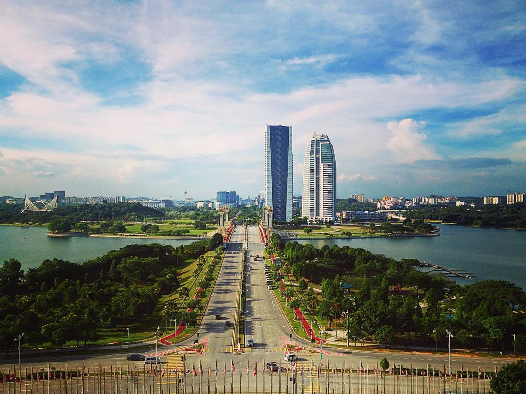 Putrajaya, Malaisie. Putrajaya est la nouvelle capitale administrative de la Malaisie.