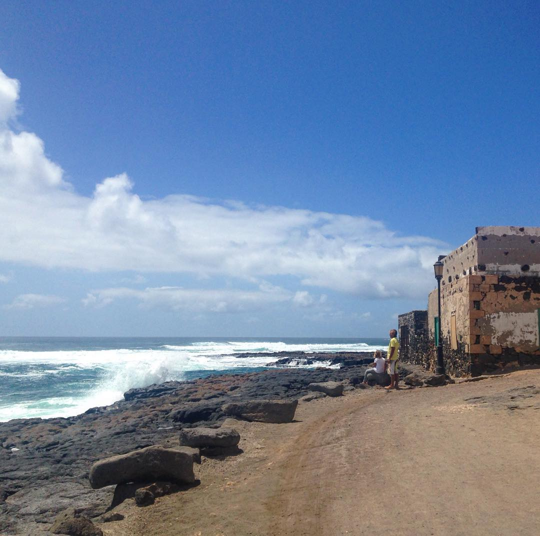 El Cotilllo, Île de Fuerteventura, Îles Canaries, Royaume d'Espagne. El Cotillo est un ancien village de pêcheurs.
