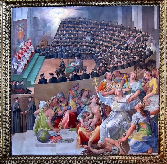 The Council of Trent, Pasquale Cati Da Iesi, 1588