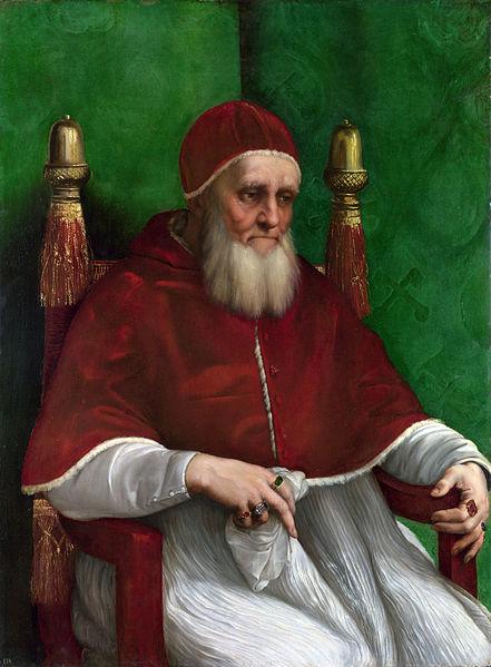 Pope Julius II, Raphael, 1511-12