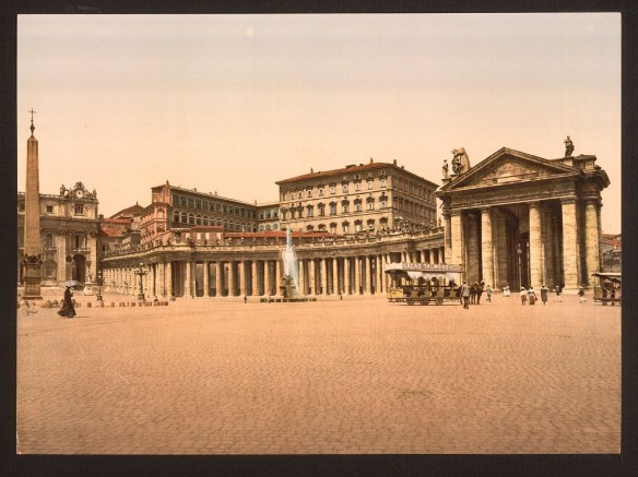 The Vatican, Rome, Italy; ca. 1890 - 1900