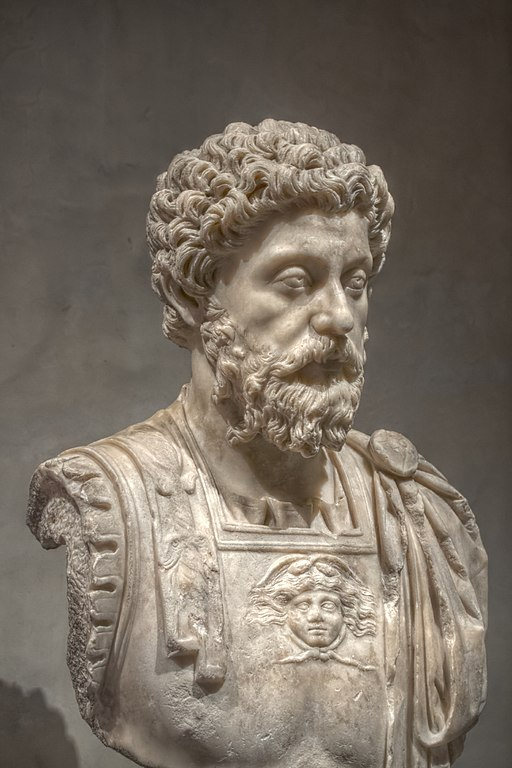 Marcus Aurelius, c. 170-180 AD, Musée Saint-Raymond, Toulouse, France.