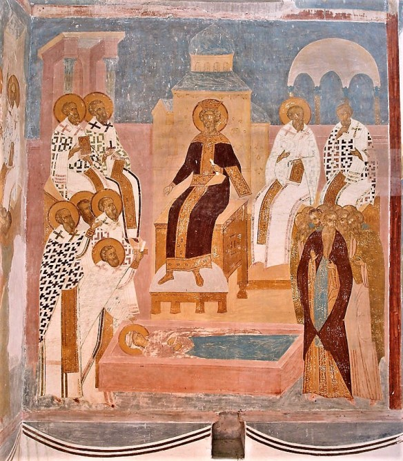 The Fourth Ecumenical Council; Dionisy; Virgin Nativity Cathedral; Ferapontovo, Kirillov, Vologda