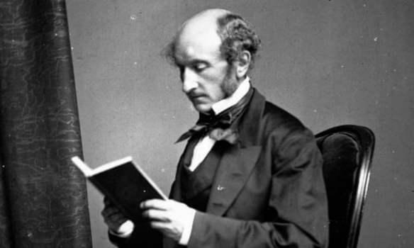 John Stuart Mill c.1858