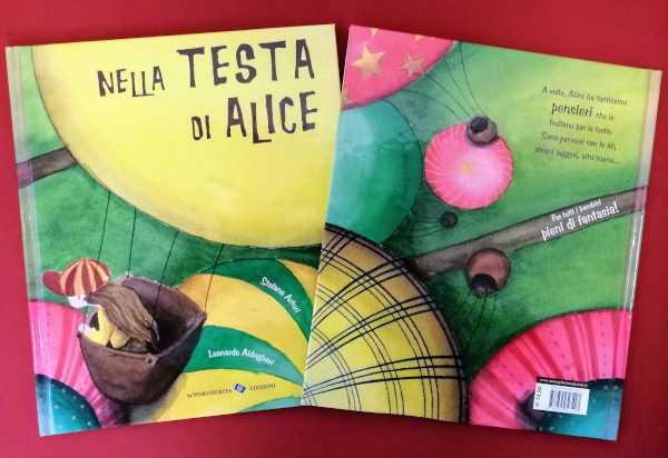 copertina di nella testa di Alice