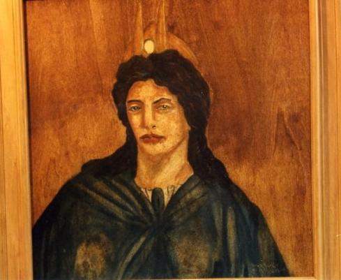 6. La dea Iside (encausto su tavola)