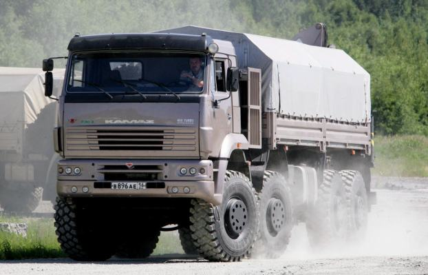 camion russo