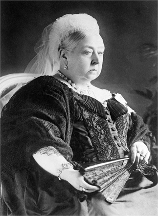 1897 --- HRH Queen Victoria --- Image by © Bettmann/CORBIS