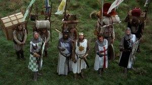 Il cast di Monty Python e il Sacro Graal