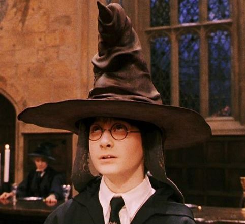 Cappello parlante Harry Potter