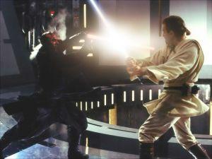 Darth Maul vs Obi Wan Kenobi
