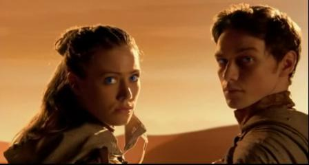 Jessica Brooks e James McAvoy: i figli di Dune