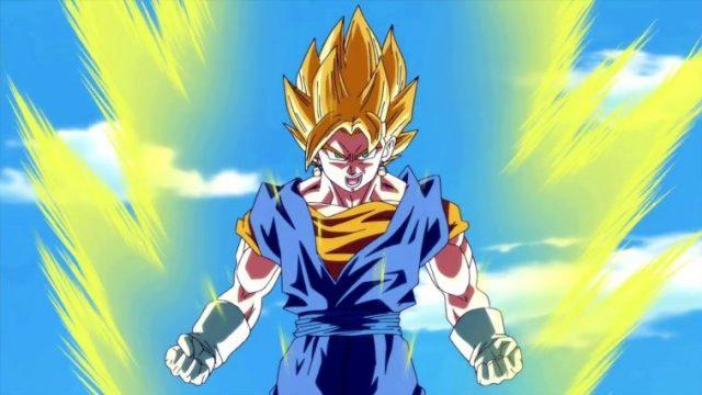 L'aura di Goku in Dragon Ball