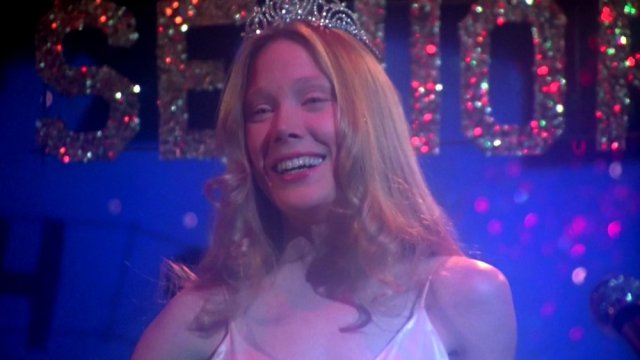 Sissy Spacek è Carrie nel film di Brian De Palma