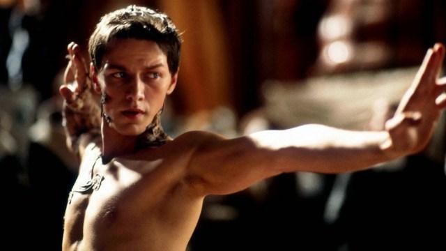 James McAvoy è Leto II ne I figli di Dune (2003) di Greg Yaitanes