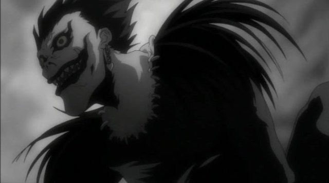 Ryuk, lo shinigami di Death Note