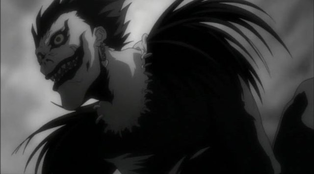 Ryuk, lo shinigami di Death Note