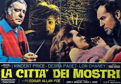 Il poster de La città dei mostri