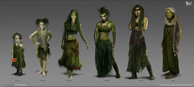 The_Witcher_Races_Dryads_01_PixoloidStudios