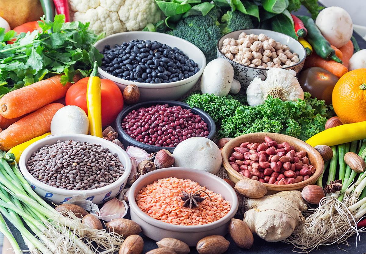 Legumbres y cereales - Libro Cocina Vegana