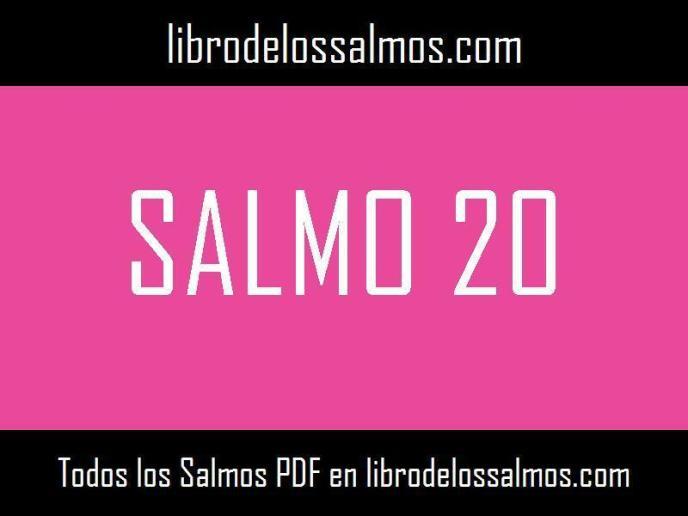 salmo 20