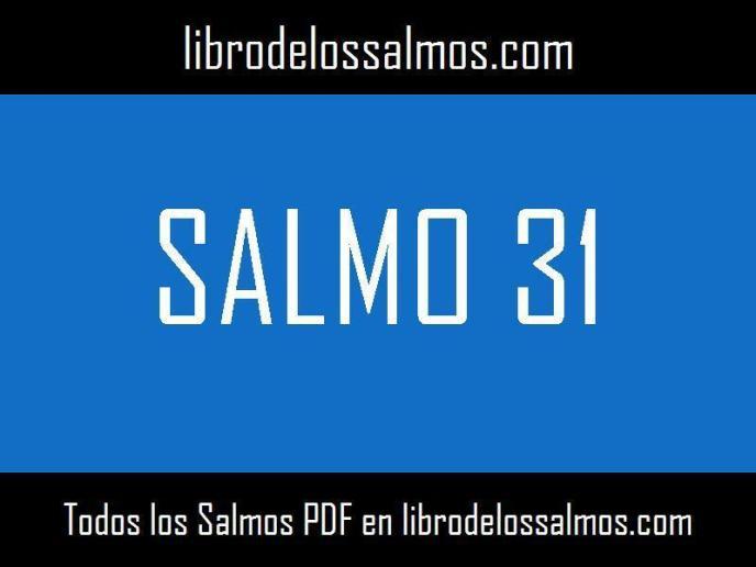 salmo 31