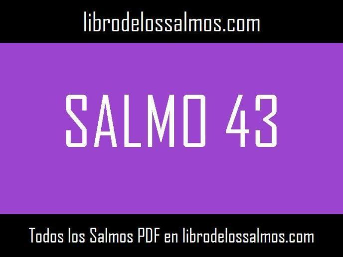 salmo 43