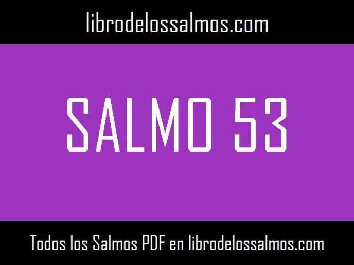 salmo 53