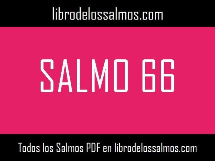 salmo 66
