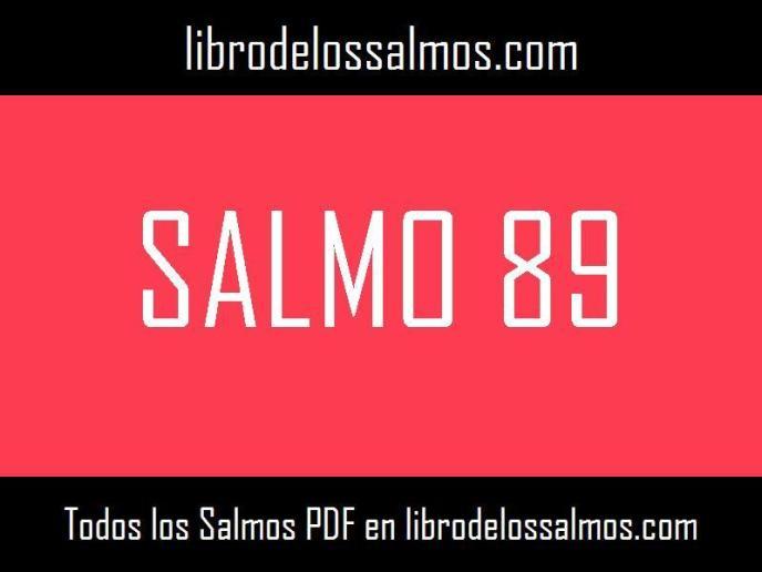 salmo 89