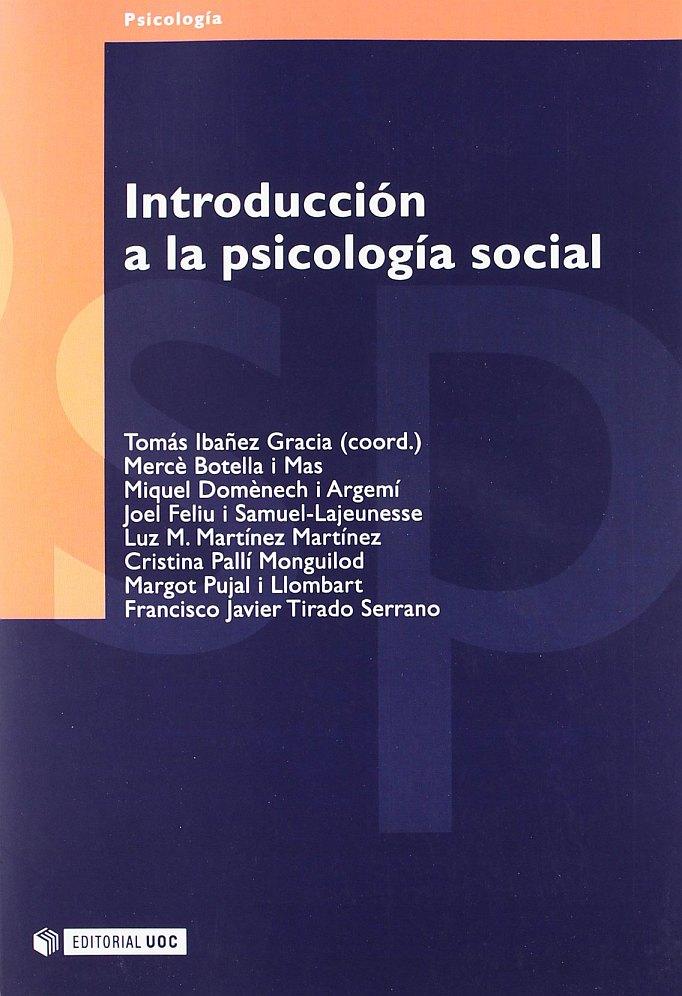 Introducción a la Psicología Social Libro