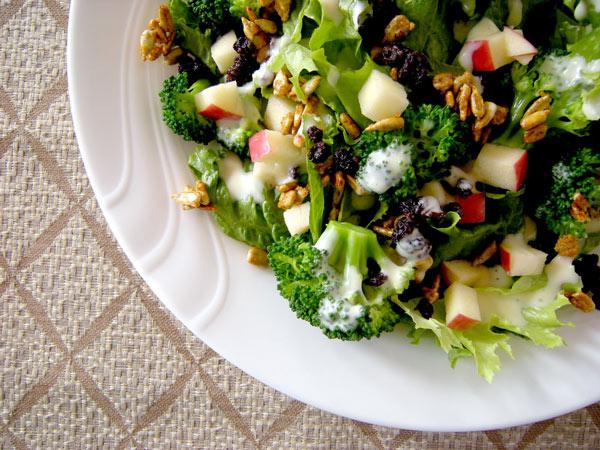 Ensalada vegetariana  Receta
