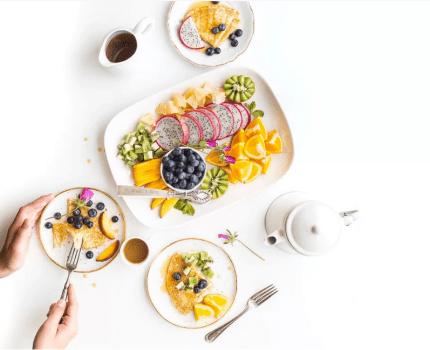 Combinaciones saludables de alimentos