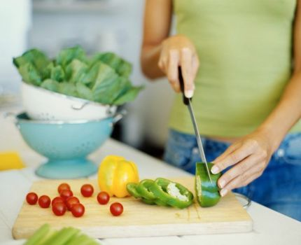 Las dietas saludables: la comida casera