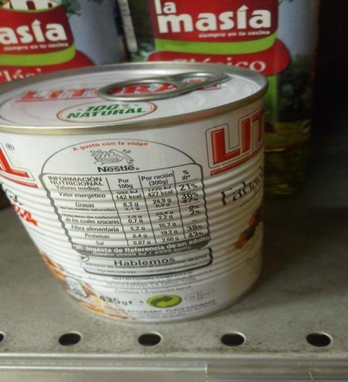 Ap`rende a interpretar la etiqueta de los alimentos