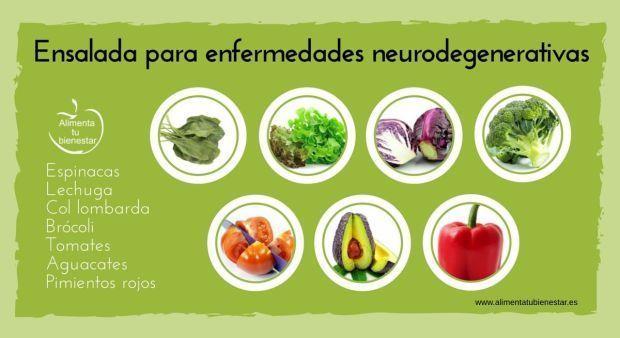 6 ensaladas perfectas para tratar 6 enfermedades.