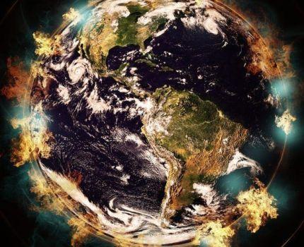 El calentamiento global de la Tierra.