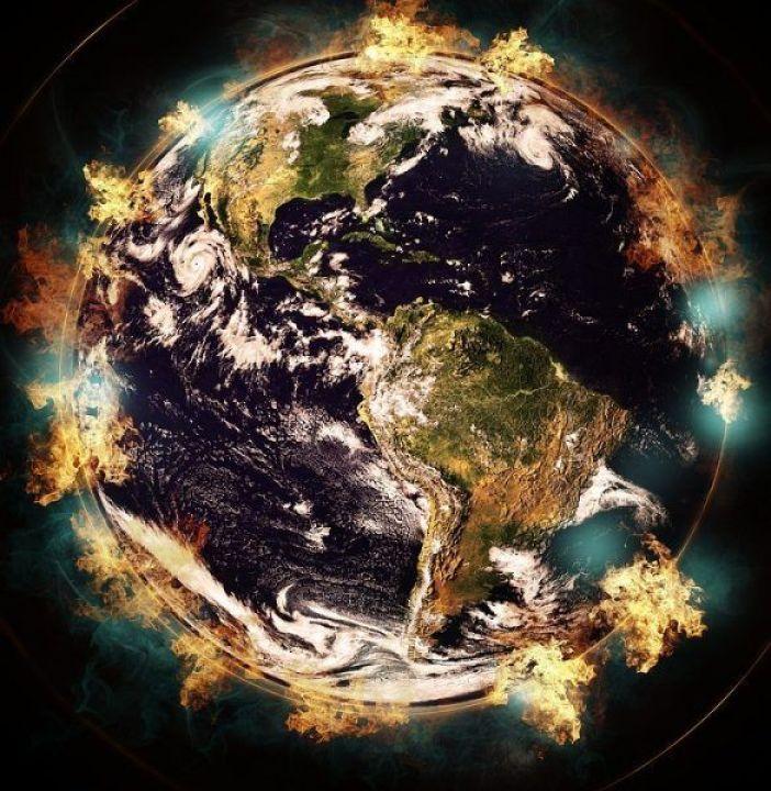 el calentamiento global de la Tierra