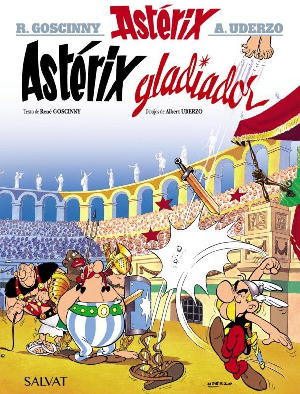 Astérix gladiador (Castellano - A Partir De 10 Años - Astérix - La Colección Clásica) (Español) Tapa dura