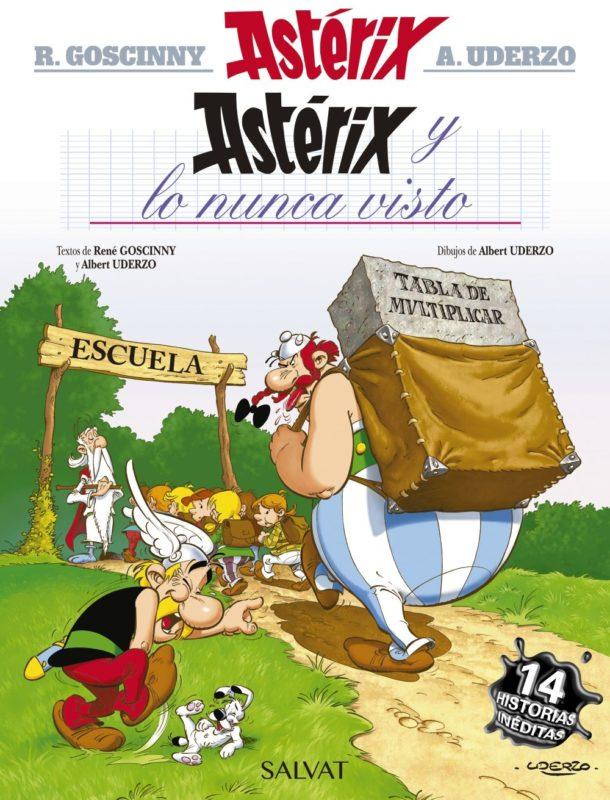 Astérix y lo nunca visto (Castellano - A Partir De 10 Años - Astérix - La Colección Clásica) (Español) Tapa dura