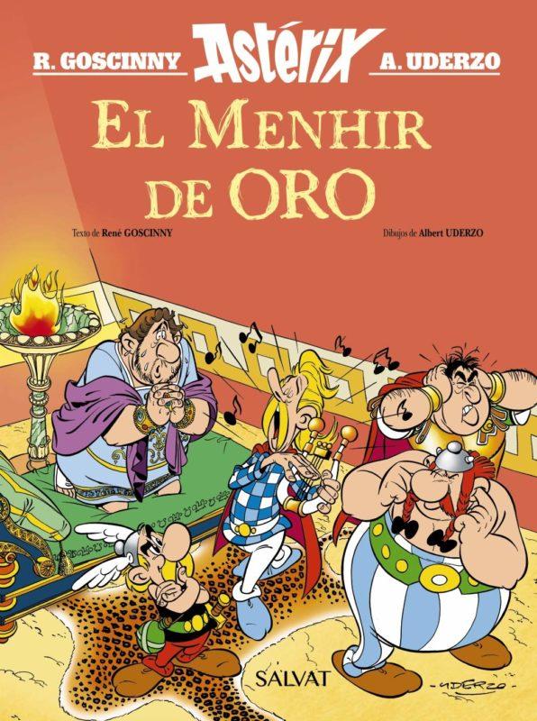 Astérix - El Menhir de Oro (Español) Tapa dura