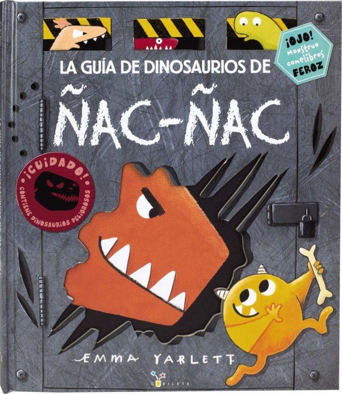 La guía de dinosaurios de Ñac-ñac (Castellano - A Partir De 3 Años - Álbumes - Cubilete) (Español) Tapa dura