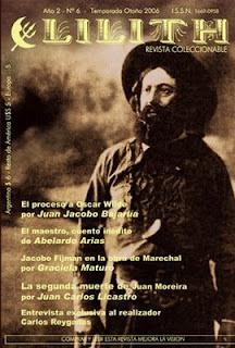 Revistas en la red. Lilith. Sandra Ávila