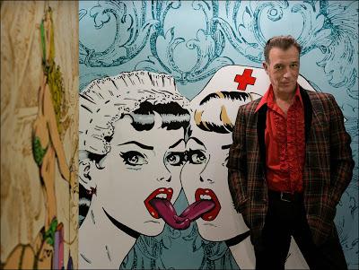 Arte. Esteban Villalta Marzi, el pintor del color y la energía. Por Luis de León Barga