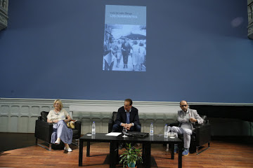 Luis de León Barga presenta su última novela, «Los durmientes»