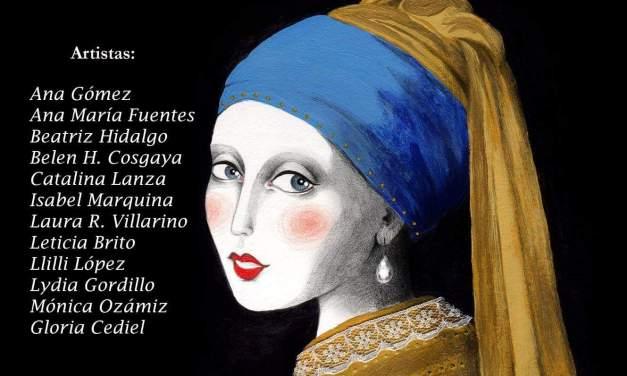 Inauguración de la exposición de pintura de mujer  para ti en Madrid