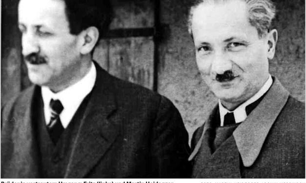 Martin y Fritz Heidegger. Correspondencia